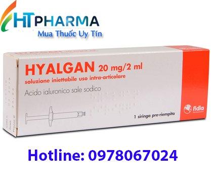 thuốc tiêm khớp hyalgan giá bao nhiêu mua ở đâu, công dụng thuốc hyalgan có tốt không