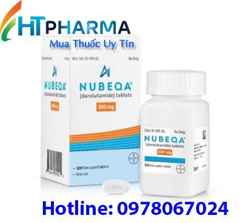 thuốc nubeqa 300mg darolutamide là thuốc gì, giá bao nhiêu, mua ở đâu, có tác dụng gì, công dụng thuốc nubeqa