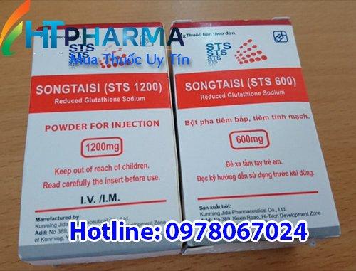 thuốc songtasi sts 600 giá bao nhiêu, mua ở đâu, công dụng thuốc tiêm Songtasi 1200