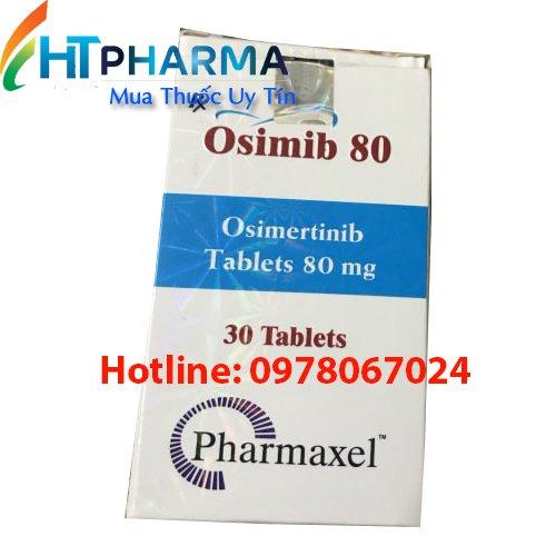 Thuốc Osimib 80mg Osimertinib là thuốc gì? có tác dụng gì? Công dụng thuốc Osimib giá bao nhiêu mua ở đâu