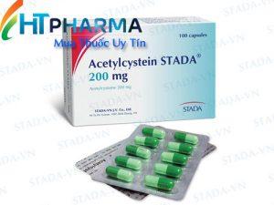 Thuốc Acetylcystein Stada 200mg là thuốc gì? có tác dụng gì? công dụng thuốc acetylceystein Stada 200mg giá bao nhiêu mua ở đâu