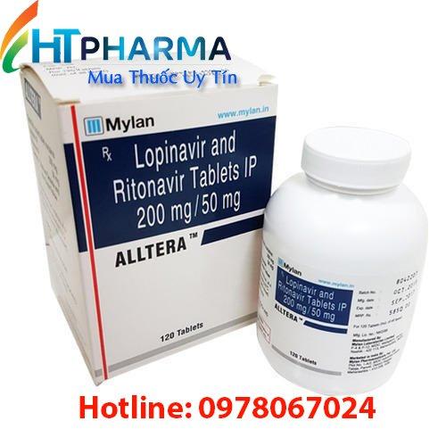 thuốc alltera là thuốc gì? có tác dụng gì? công dụng thuốc alltera giá bao nhiêu mua ở đâu? thuốc điều trị HIV của mylan