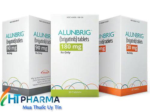 thuốc Alunbrig Brigatinib là thuốc gì? có tác dụng gì? công dụng thuốc alunbrig giá bao nhiêu mua ở đâu