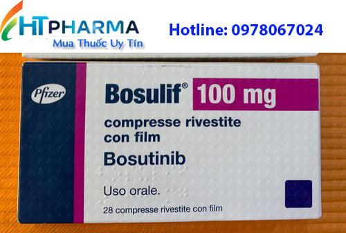thuốc bosulif 100mg bosutinib là thuốc gì? có tác dụng gì? thuốc bosulif giá bao nhiêu mua ở đâu