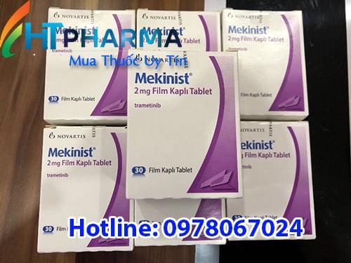 thuốc Mekinist 2mg trametinib là thuốc gì? có tác dụng gì? công dụng thuốc Mekinist điều trị ung thư giá bao nhiêu mua ở đâu