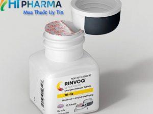 thuốc rinvoq là thuốc gì? có tác dụng gì? thuốc