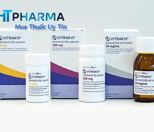thuốc vitrakvi larotrectinib là thuốc gì? có tác dụng gì? công dụng liều dùng thuốc vitrakvi giá bao nhiêu mua ở đâu