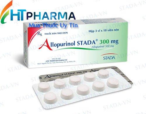 thuốc allopurinol stada 300mg là thuốc gì? có tác dụng gì? giá bao nhiêu mua ở đâu chính hãng