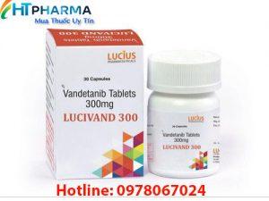 thuốc Lucivand 300mg vandetanib là thuốc gì? có tác dụng gì? công dụng thuốc Lucivand 300mg giá bao nhiêu mua ở đâu