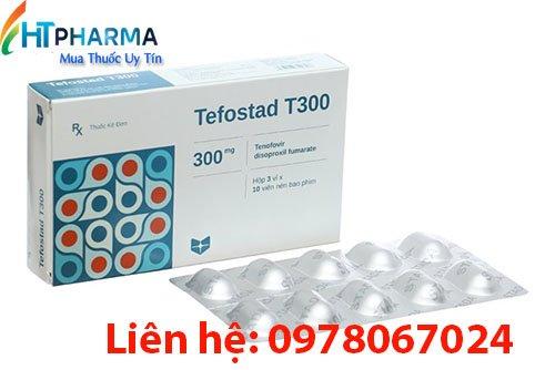 thuốc tefostad T300 là thuốc gì? có tác dụng gì? thuốc Tefostad T300 giá bao nhiêu mua ở đâu