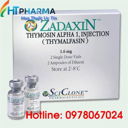 thuốc zadaxin tiêm là thuốc gì? giá bao nhiêu? mua ở đâu chính hãng