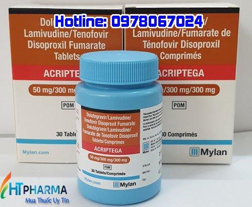 Thuốc Acriptega là thuốc gì? giá bao nhiêu mua ở đâu chính hãng