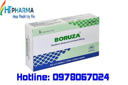 thuốc boruza 300mg giá bao nhiêu mua ở đâu chính hãng