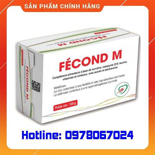 Thuốc Fecond M là thuốc gì? giá bao nhiêu mua ở đâu chính hãng