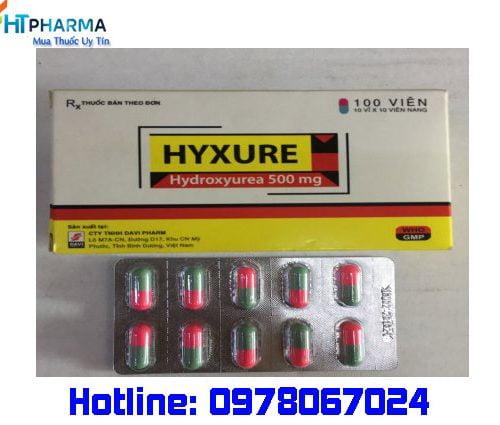 thuốc hyxure là thuốc gì? giá bao nhiêu? mua ở đâu chính hãng