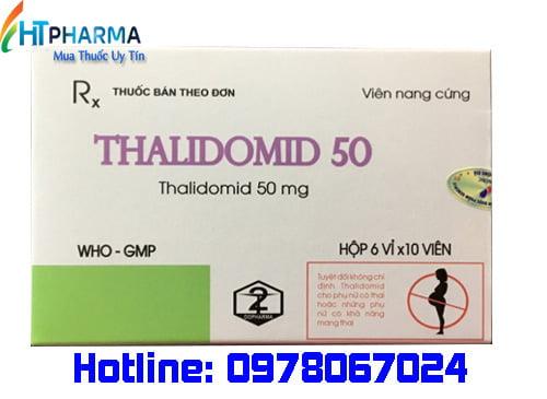thuốc thalidomid 50 là thuốc gì? giá bao nhiêu mua ở đâu