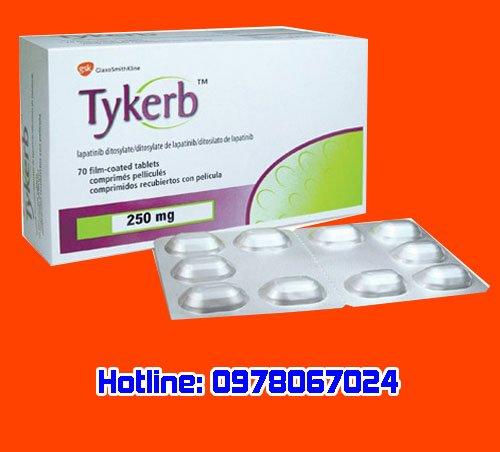 Thuốc tykerb là thuốc gì? thuốc tykerb giá bao nhiêu mua ở đâu chính hãng