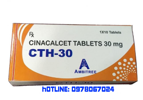 Giá thuốc CTH 30 Cinacalcet