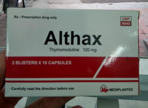 Giá thuốc Althax 120mg