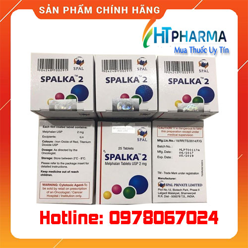 thuốc Spalka 2 là thuốc gì? giá bao nhiêu mua ở đâu chính hãng tại hà nội