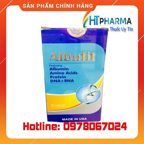 Thuốc Albufit là thuốc gì? giá bao nhiêu? mua ở đâu chính hãng