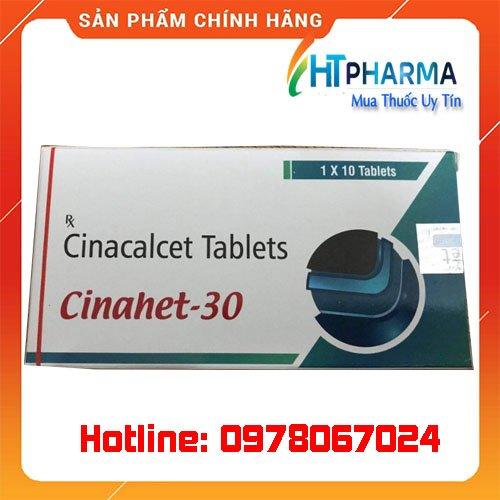 thuốc Cinahet 30 là thuốc gì? giá bao nhiêu? mua ở đâu chính hãng