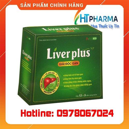 thuốc Liver Plus giá bao nhiêu mua ở đâu chính hãng