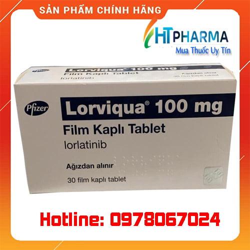 thuốc lorviqua 100 là thuốc gì? giá bao nhiêu mua ở đâu chính hãng