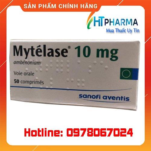 Thuốc Mytelase 10mg là thuốc gì? giá bao nhiêu? mua ở đâu chính hãng