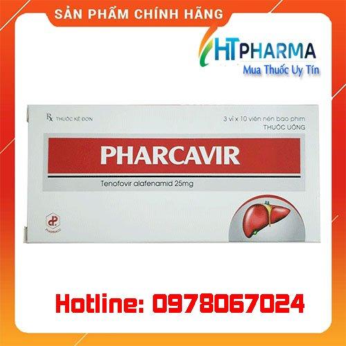thuốc Pharcavir 25mg là thuốc gì? giá bao nhiêu? mua ở đâu chính hãng
