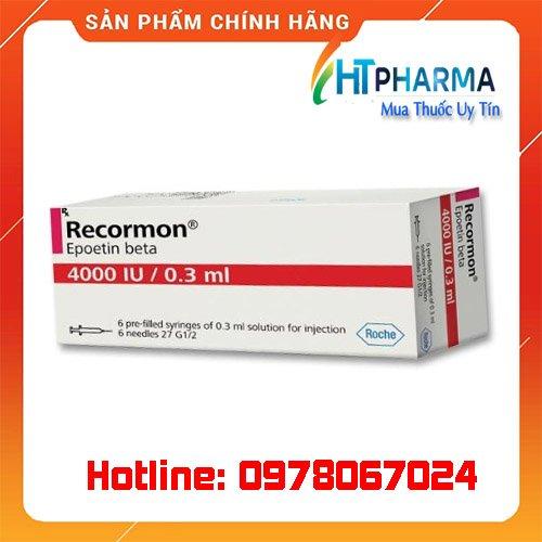 thuốc recormon là thuốc gì? giá bao nhiêu mua ở đâu chính hãng