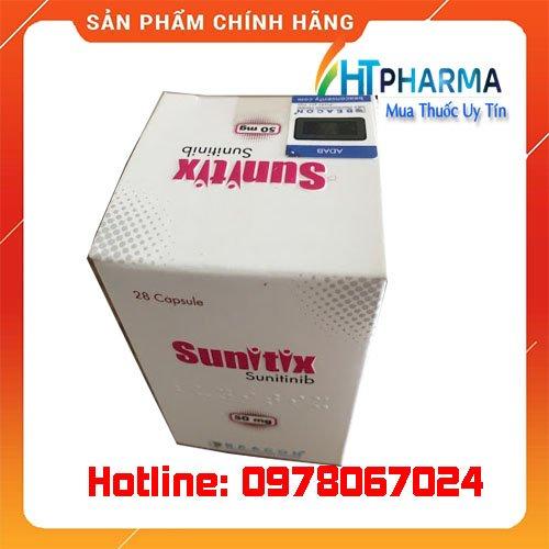 thuốc Sunitix Sunitinib là thuốc gì? giá bao nhiêu mua ở đâu chính hãng tại hà Nội, TPHCM