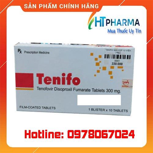 Thuốc tenifo là thuốc gì? giá bao nhiêu? mua ở đâu