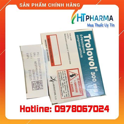 thuốc trolovol 300 là thuốc gì? giá bao nhiêu mua ở đâu chính hãng tại Hà Nội, TPHCM
