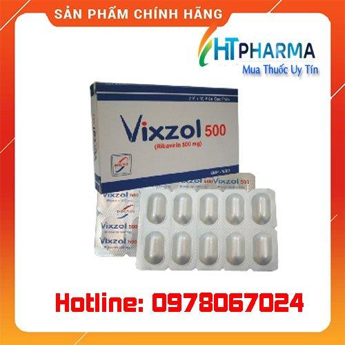 thuốc Vixzol là thuốc gì? giá bao nhiêu mua ở đâu chính hãng