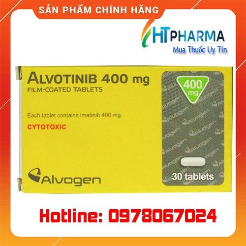 thuốc Alvotinib 100mg là thuốc gì? giá bao nhiêu mua ở đâu chính hãng