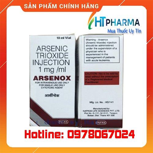 thuốc Arsenox là thuốc gì? giá bao nhiêu? mua ở đâu