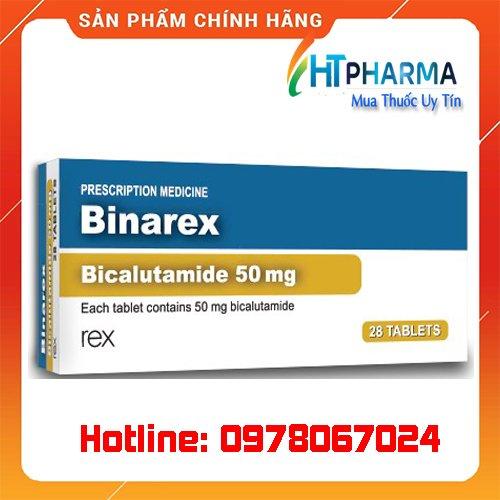 thuốc Binarex là thuốc gì? giá bao nhiêu? mua ở đâu chính hãng