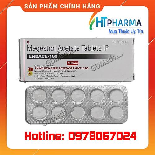 thuốc Endace 160 Megestrol giá bao nhiêu mua ở đâu chính hãng