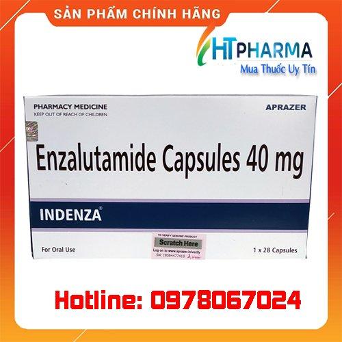 thuốc Indenza 40mg enzalutamide capsules 40mg là thuốc gì? mua ở đâu chính hãng, giá bao nhiêu tốt nhất