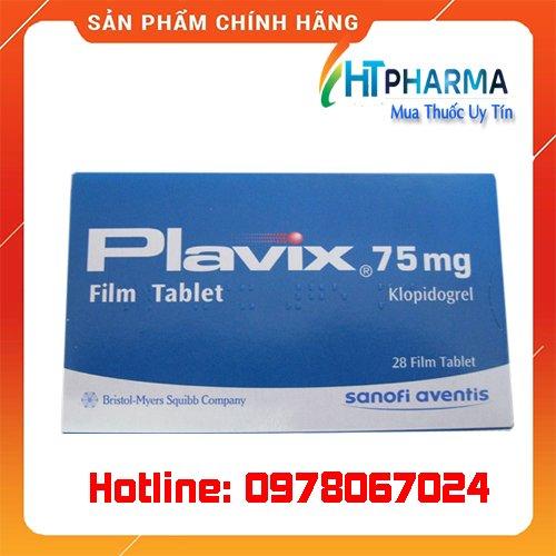 thuốc Plavix 75mg là thuốc gì? giá bao nhiêu? mua ở đâu chính hãng