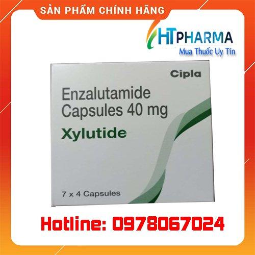 thuốc Xylutide 40mg enzalutamide capsules là thuốc gì? giá bao nhiêu? mua ở đâu chính hãnh