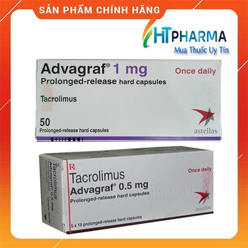 Thuốc Advagraf 0.5mg, 1mg là thuốc gì? giá bao nhiêu? mua ở đâu chính hãng