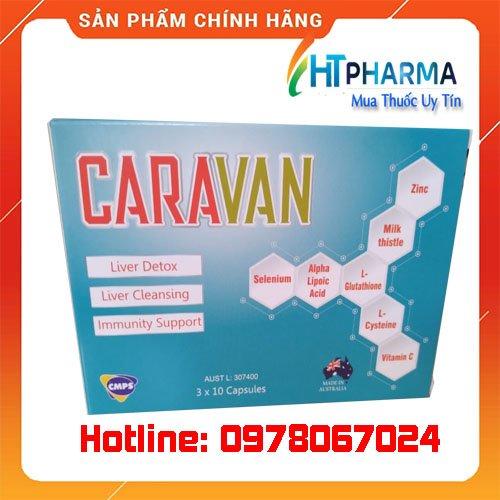 thuốc caravan là thuốc gì? giá bao nhiêu? mua ở đâu chính hãng
