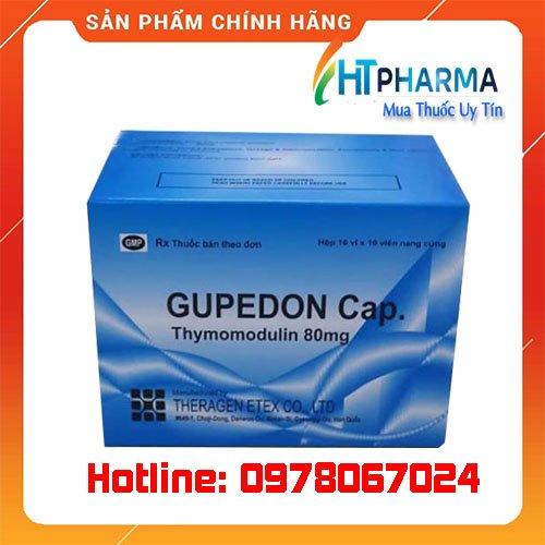 thuốc Gupedon 80mg tăng cường miễn dịch