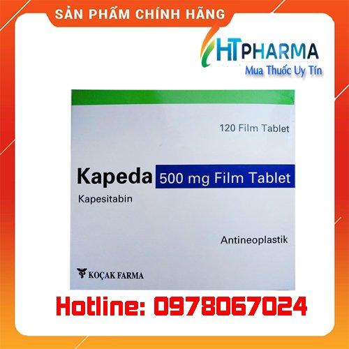 thuốc Kapeda là thuốc gì? giá bao nhiêu? mua ở đâu chính hãng