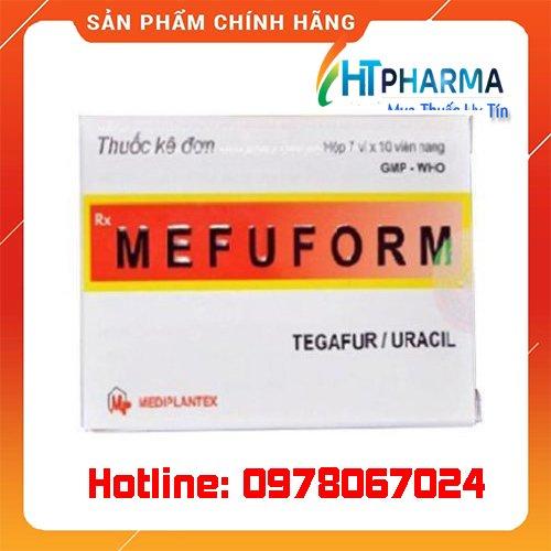 Thuốc Mefuform là thuốc gì? giá bao nhiêu? mua ở đâu chính hãng