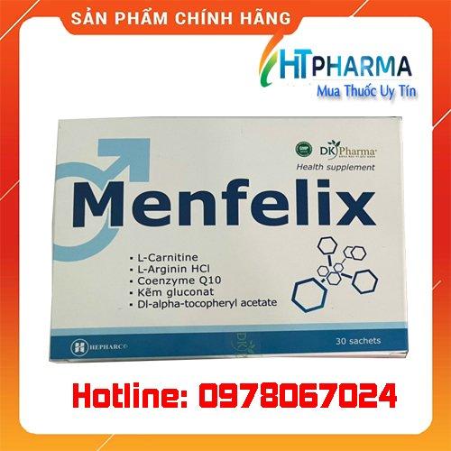 Thuốc Menfelix là thuốc gì? giá bao nhiêu? mua ở đâu chính hãng