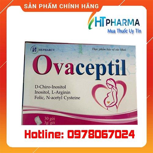 thuốc Ovaceptil là thuốc gì? giá bao nhiêu? mua ở đâu chính hãng