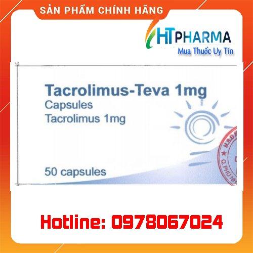 thuốc tacrolimus teva là thuốc gì? giá bao nhiêu? mua ở đâu chính hãng